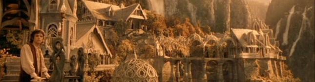 lord of the rings rivendell banner