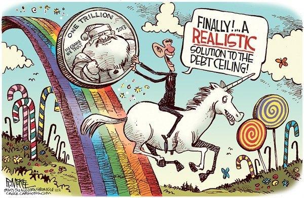 Obama Tilion Dollar Coin
