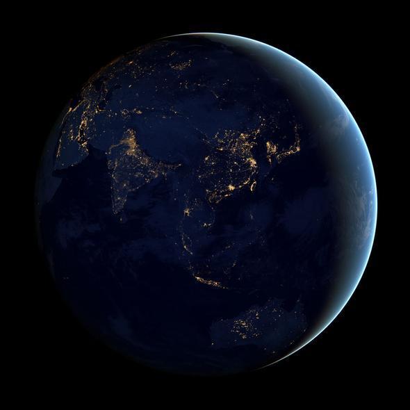 black-marble-asia-australia