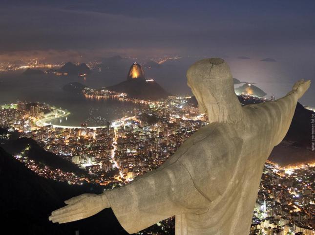 Brazil Rio de Janeiro travel Christ HD
