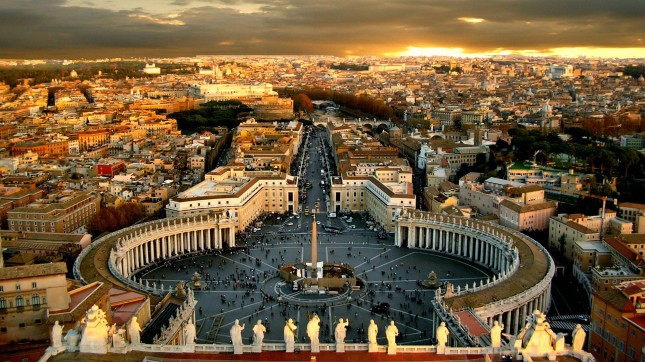 Rome Catholic Church Vatican HD wide