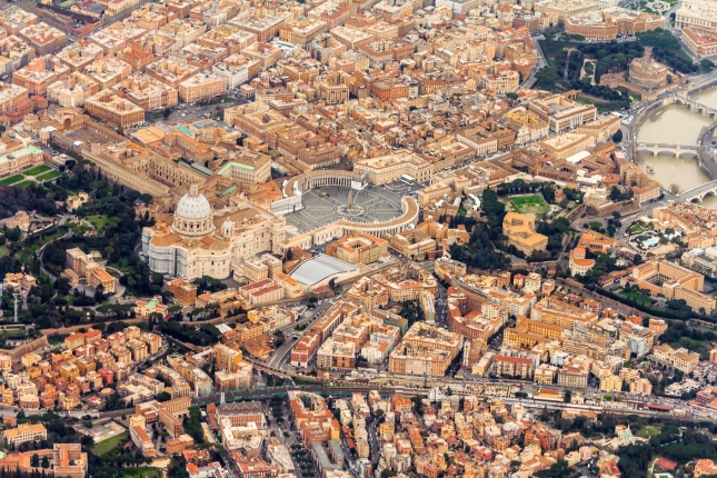 Vatican from the air