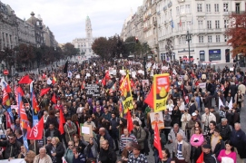 Iberian General Strike in Porto