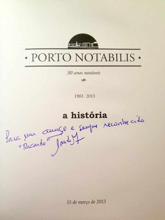Porto Notabilis Dedicatória