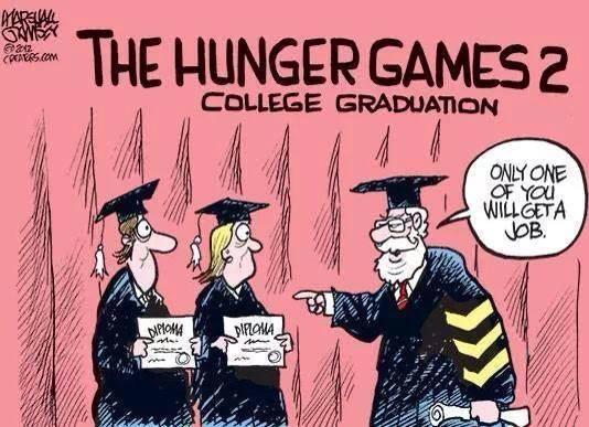 Hunger Games College Graduation