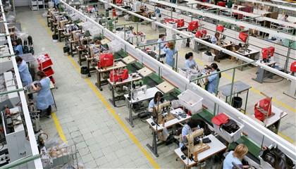 linha de produção em fábrica